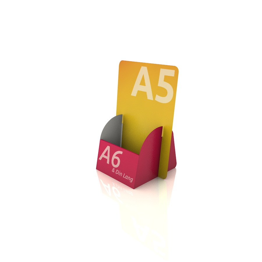 Kartenbox Flyerhalter Aus Pappe Bedrucken Günstig